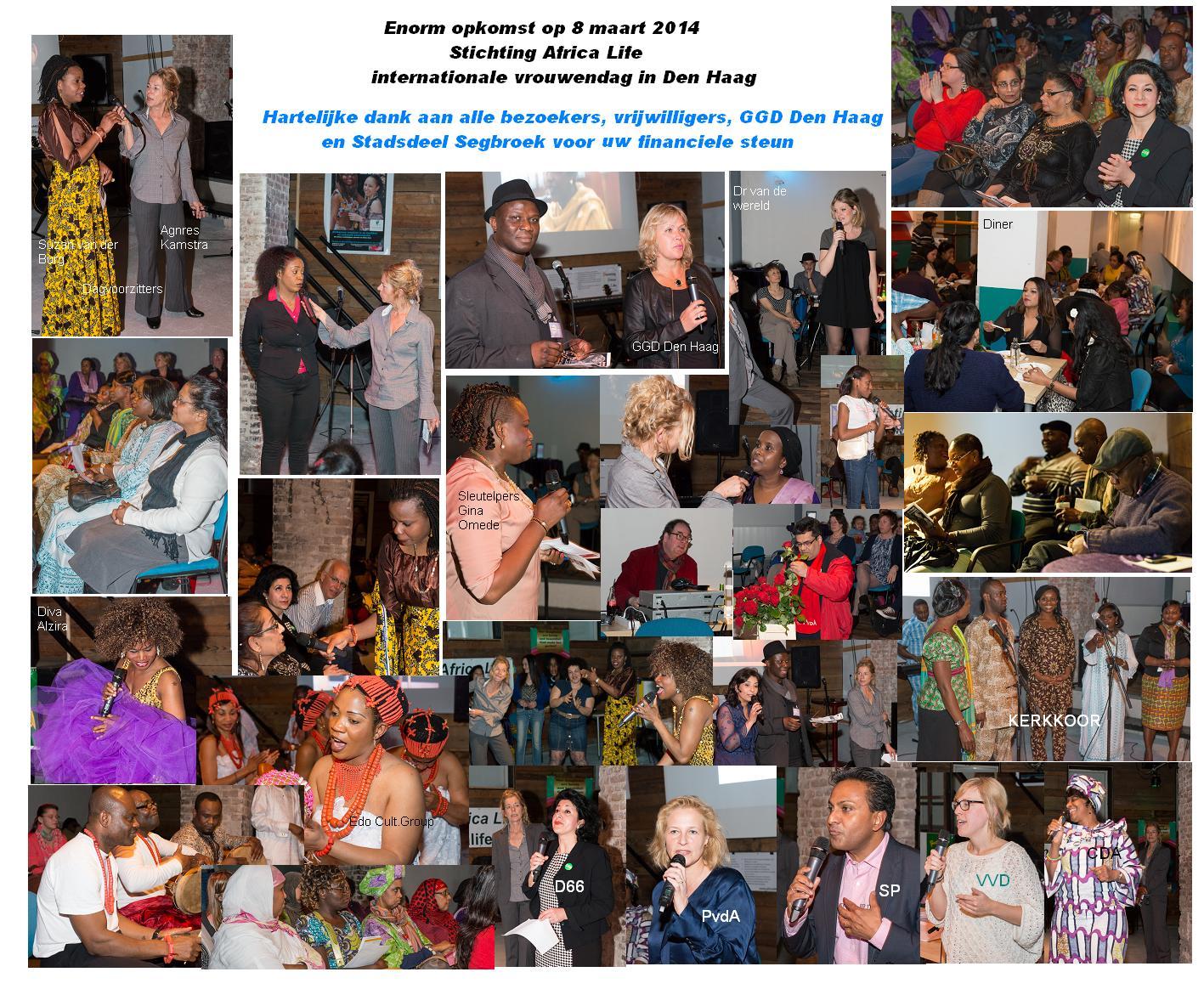 foto verslag 8 maart int.vrouwendag 2014